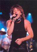Bon Jovi - 'Jon on Stage' Postcard